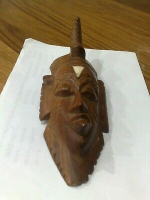 £6.99 • Buy Wooden African Mask