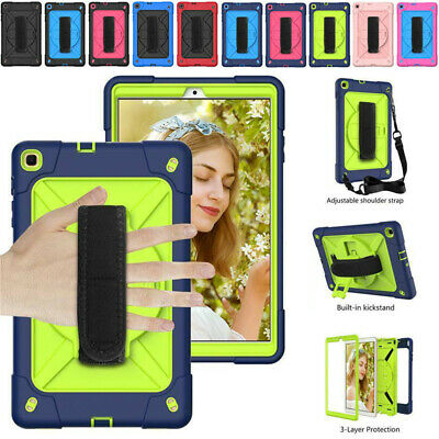 AU23.29 • Buy For Samsung Galaxy Tab A 8.0 A7 S6 Lite Heavy Duty Rugged Stand Strap Case Cover