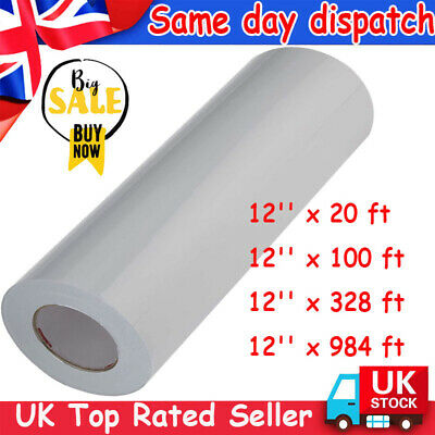 £5.97 • Buy 100M Clear Vinyl Application Tape For Car Wall Craft Art Decal Transfer Paper UK