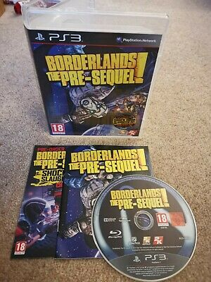 £3.49 • Buy Borderlands The Pre-Sequel - Sony PS3 Game Disc - COMPLETE MANUAL! Fast P&P! LN!