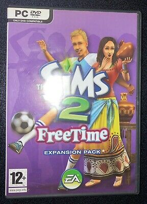 £2.29 • Buy THE SIMS 2: FREETIME - *Expansion Pack* - Complete With Code - PC CD-ROM
