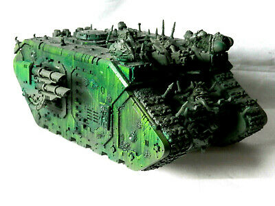 £38 • Buy A24 Warhammer 40k Chaos Deathguard Army - Painted Chaos Land Raider