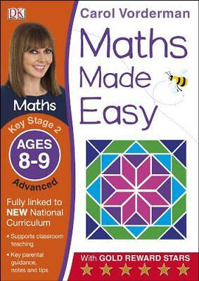 £2.59 • Buy Maths Made Easy Key Stage 2 Advanced 8-9 By Vorderman, Carol, Good Used Book (Pa