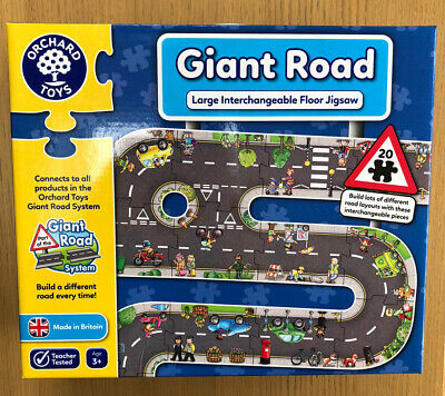 £8.99 • Buy Orchard Toys Giant Road Jigsaw Puzzle - 20 Piece