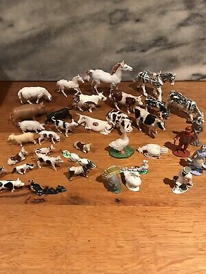 £3.99 • Buy Job Lot Of Various Sized Farm Animals And Figures