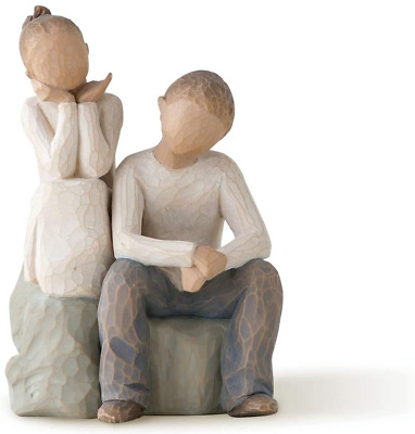 £39.75 • Buy Willow Tree Brother And Sister Figurine