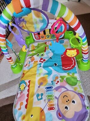 £9 • Buy Fisher-Price Kick And Play Piano Gym Play Mat