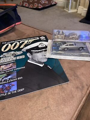 £4.99 • Buy James Bond Car Collection 007 -  Aston Martin DB5 Issue 11 Sealed New