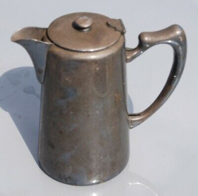 £9.80 • Buy Mappin And Webb Silver Plate Coffee Pot Water Jug 21c/3247 1960