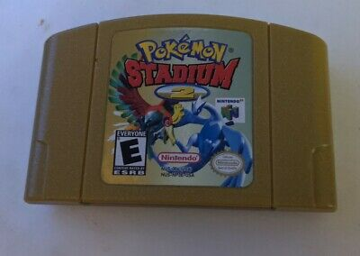$42 • Buy Pokemon Stadium 2 (64, 2001) USED AND AUTHENTIC CART ONLY