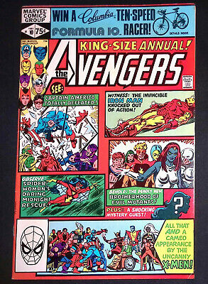 £119.99 • Buy Avengers King Size Annual #10 Marvel Comics 1st Appearance Of Rogue VF/NM
