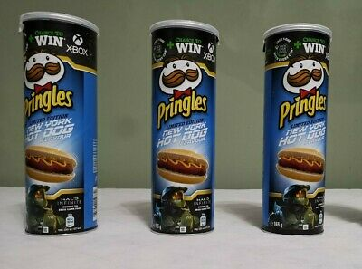 £14.99 • Buy NEW Pringles Limited Edition New York Hot Dog Flavour 165g X3