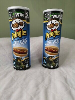 £9.99 • Buy NEW Pringles Limited Edition New York Hot Dog Flavour 165g X2