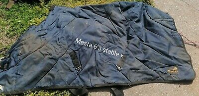 £10 • Buy Masta 6'3 Turnout Rug, Could Do With A Good Wash But Otherwise Usable