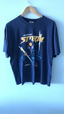 £105.95 • Buy Nrl Rugby Melbourne Storm Vintage Top Heavy Shirt Tshirt Size Large Official