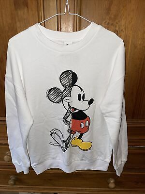 £12.90 • Buy Disney Jumper Sweatshirt Mickey Mouse New With Tags 8 - 10