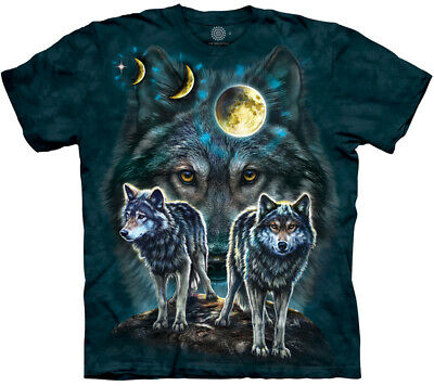 £24.99 • Buy NORTHSTAR WOLVES Wolf The Mountain T Shirt Unisex - Eco-friendly