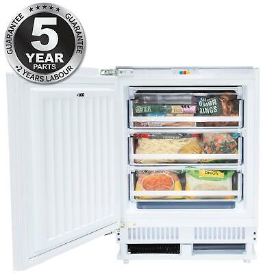 £269.99 • Buy SIA RFU103 Built In 105L White Integrated Under Counter 3 Drawer Freezer