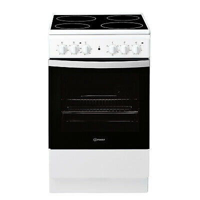 £239.99 • Buy Indesit Freestanding IS5V4KHW 50cm Electric Cooker A Rated - White