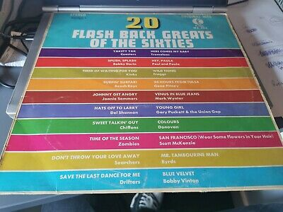 £1 • Buy 20 Flashback Greats Of The Sixties: 12  LP K Tel Label