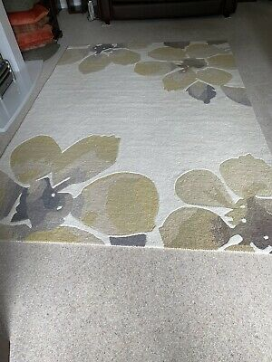 £75 • Buy  Next Home 100% Wool Rug XL 200cm X 290 Cm Abstract Floral