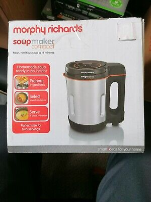£20 • Buy Morphy Richards 501027 900 W 1 L Compact Stainless Steel Saute And Soup Maker -…