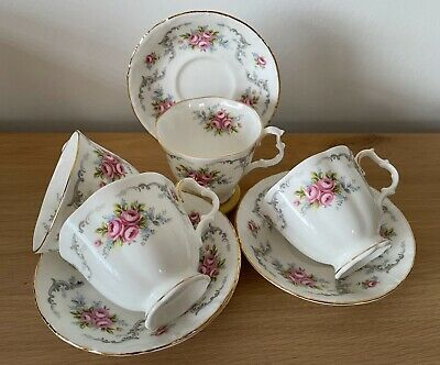 £12.99 • Buy Royal Albert ~Tranquillity ~ 4 Teacups And Saucers