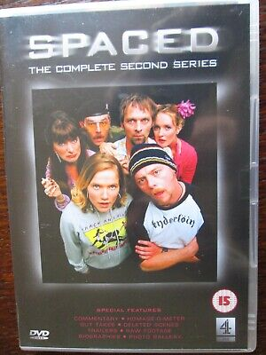 £1 • Buy  Spaced-the Complete Second Series  Region 2 Dvd Pegg/stevenson/heap 7 Eps. 15