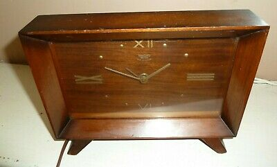 £9.99 • Buy Vintage Smiths Sectric Retro Electric Wood Cased Mantel Clock