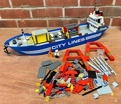 £11.50 • Buy LEGO 7994 - CITY HARBOUR - The Ship Is All There But The Rest Is Incomplete