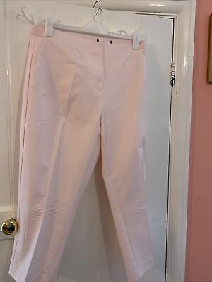 £9.99 • Buy M&S COLLECTION Mia Slim Cropped Trousers Size 20 Long Light Pink