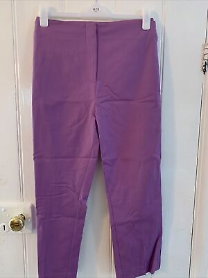 £6.99 • Buy M&S COLLECTION Mia Slim Cropped Trousers Size 6 Long Colour Heather
