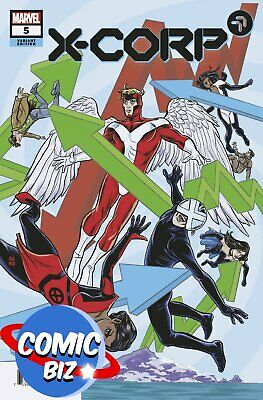 £3.65 • Buy X-corp #5 (2021) 1st Printing Allred Variant Cover Marvel Comics