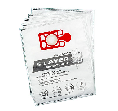 £4.99 • Buy 5 X Bags Compatible With Henry Hoover Bags Hetty James  Vacuum Cleaner