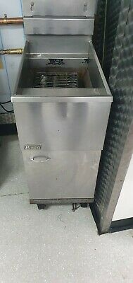 £475 • Buy PITCO Commercial Gas Fryer Floor Standing Single Tank Twin Baskets Chips Chicken