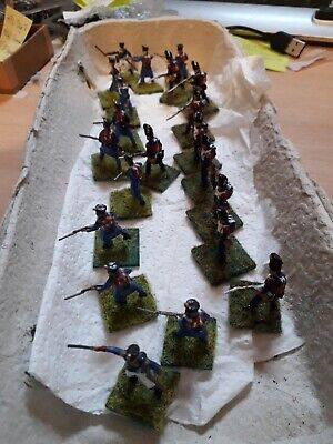 £16.99 • Buy Vintage JOBLOT HaT PAINTED BASED NAPOLEONIC YOUNG GUARD FRENH INF 1/72 WATERLOO