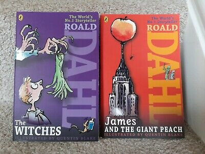 £0.99 • Buy Roald Dahl Books X2 The Witches & James And The Giant Peach