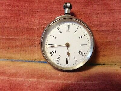 £30 • Buy A Hallmarked 935 Silver Cased Pocket Watch Working Perfectly