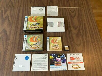 $334.99 • Buy Pokemon: HeartGold (Nintendo DS) -- Complete In Box -- Authentic -- Tested
