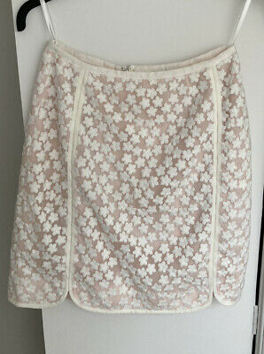 £4 • Buy Reiss Skirt Size 6 Mini Pink And White Floral