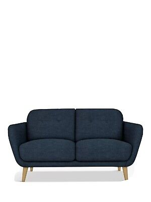 £300 • Buy John Lewis Blue Arlo 2 Seater Sofa Excellent Condition RRP£599