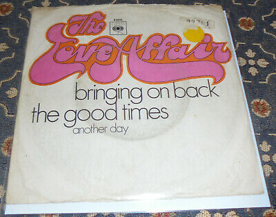 £1.70 • Buy The Love Affair : Bringing On Back The Good Times,CBS,7 ,im Bildcover