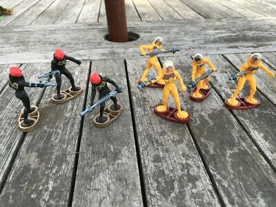 £5 • Buy Britains Star Guard Space X 7 Figures Figures 1980s 1/32 Scale
