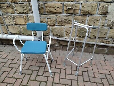 £5 • Buy Mobility Walker/Frame And Perching Stool - Used In Good Condition