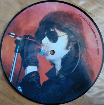 £4.99 • Buy Sisters Of Mercy 7  Interview Picture Disc.