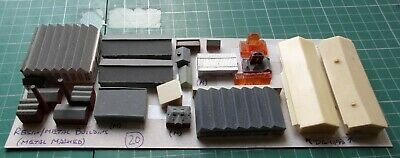 £31 • Buy Buildings X 19 By Various Makes, Scale 1/1250 Ship Model