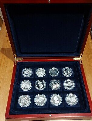 £0.99 • Buy Rare 2005-2007 Vice Admiral Lord Nelson 24 Silver Coin Collection