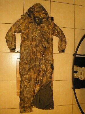 £17.58 • Buy FIELD And STREAM Advantage Timber Camo Insulated Winter Hunting Coveralls Medium