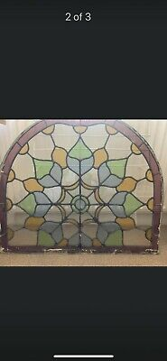 £68 • Buy Genuine Stained Glass Window Taken From A House In Eyam