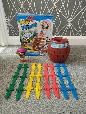 £6.99 • Buy TOMY Pop-Up Pirate! Board Game - Kids Children's Toy Fun Family!!!
